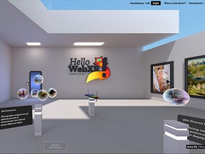 WebXR Demo: Hello WebXR