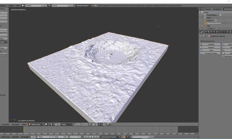 3-D Models Blender