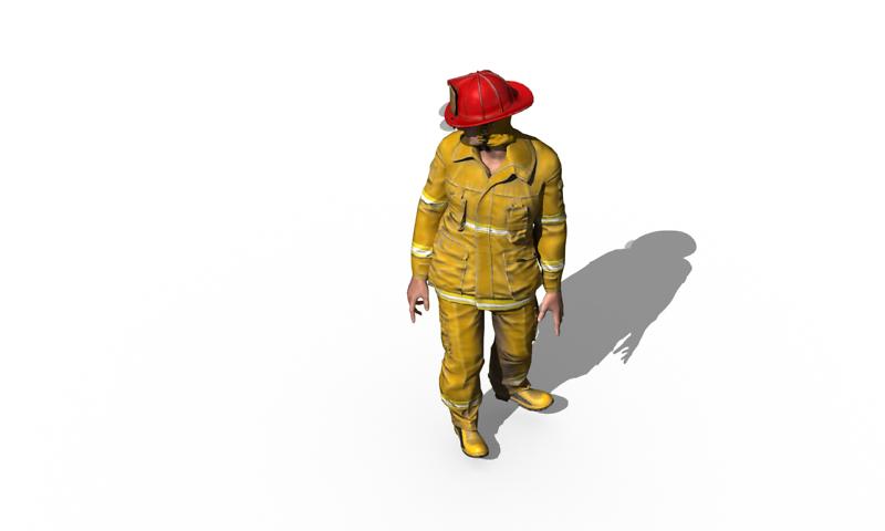 Rendern von 3D-Figuren für die endgültige Ausgabe