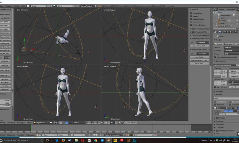 menschliche 3D-Modelle von r23