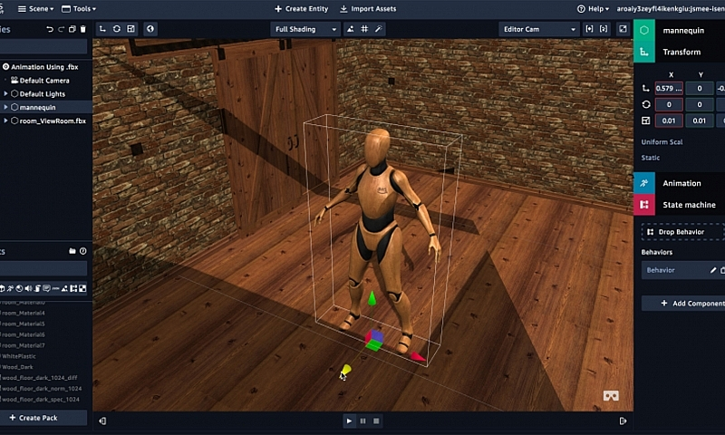 Sumerian: Editor für Augmented und Virtual Reality 1