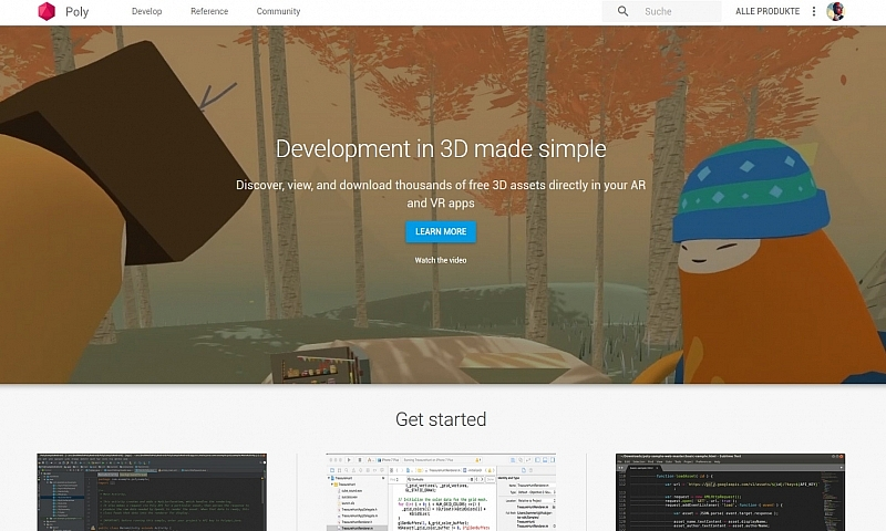 Google führt Poly API & Toolkit ein
