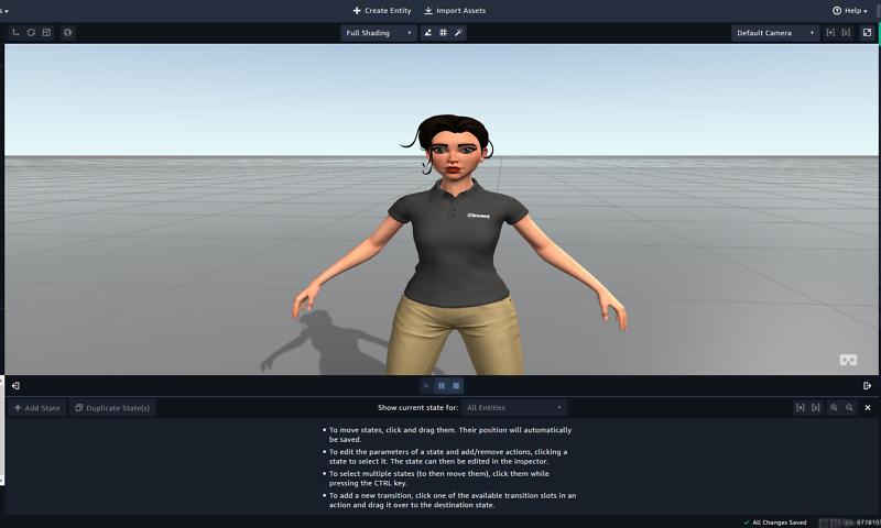 Die schnellste und einfachste Möglichkeit, VR-, AR- und 3D-Erfahrungen zu entwickeln