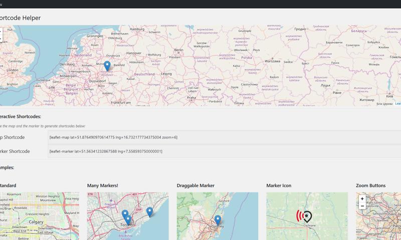 Webentwicklung von dynamischen Karten 1