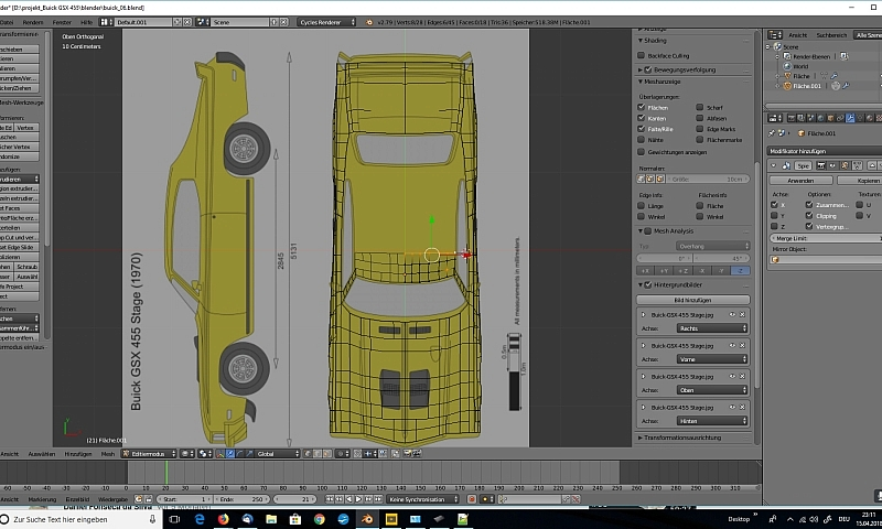 Blender Car Modeling