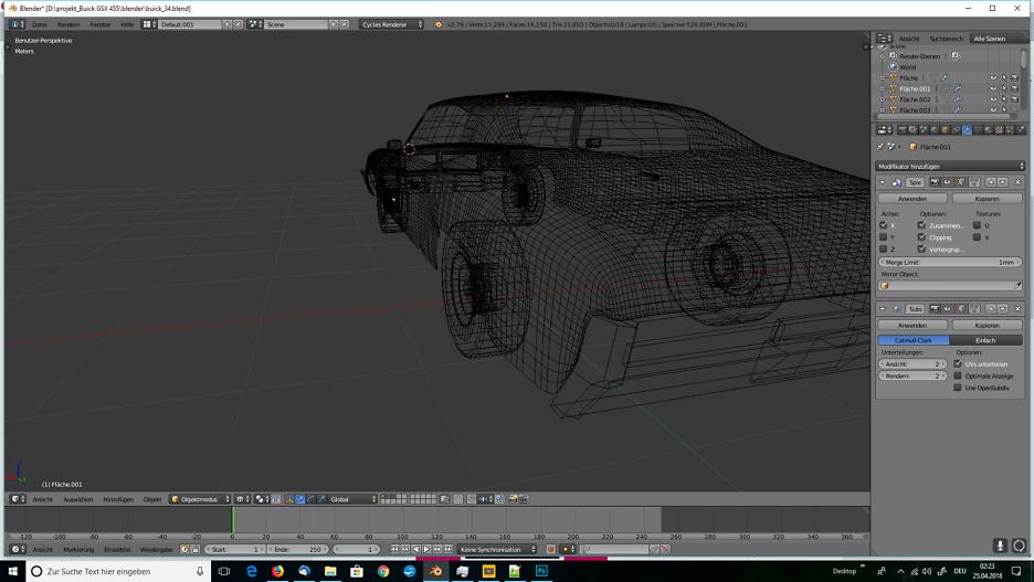Tag 6: Blender Car Modeling