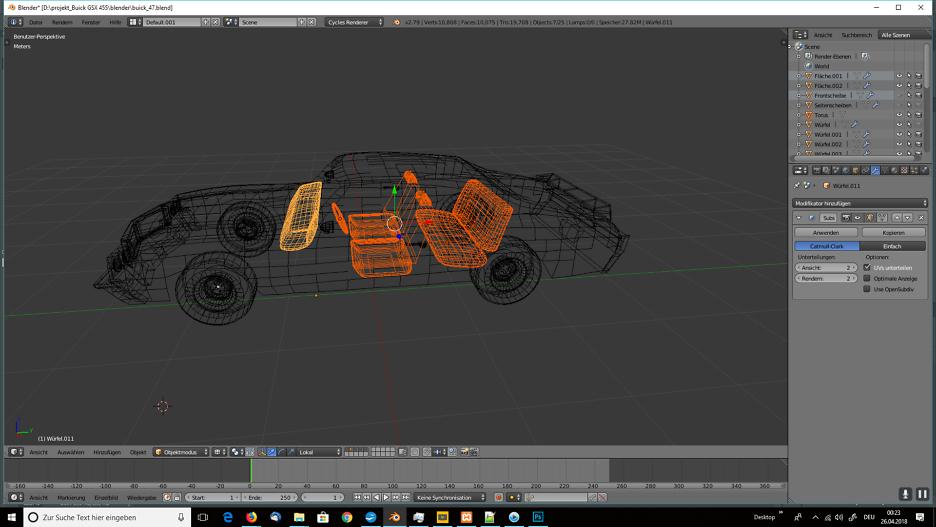 Tag 7: Blender Car Modeling
