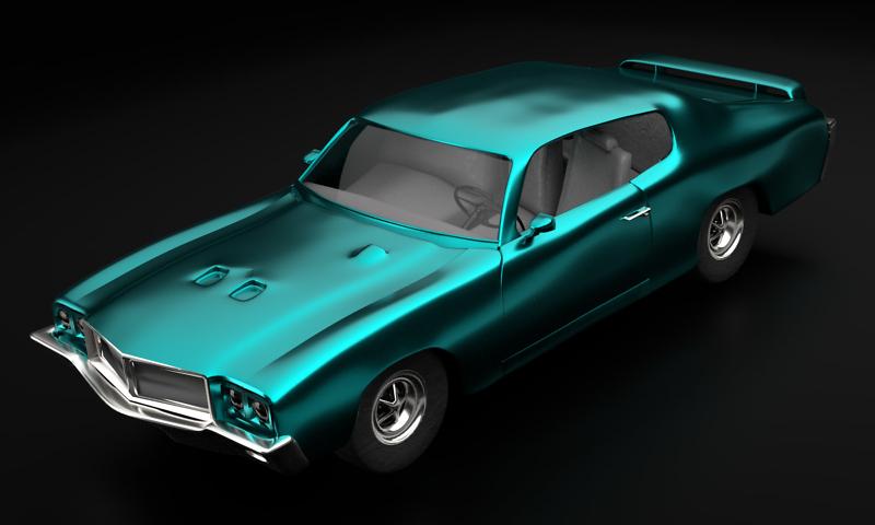 1970er Buick GSX 455 1