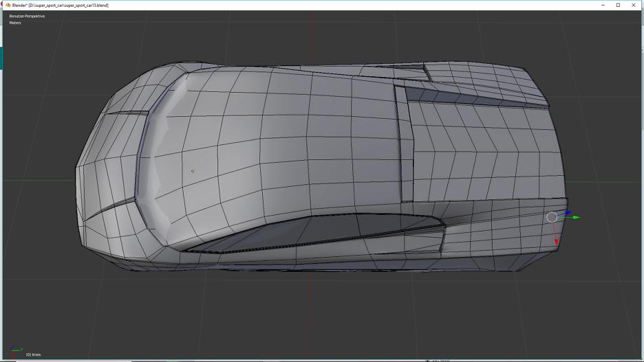 Model A Lamborghini Gallardo LP560-4 in Blender