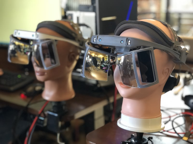 Augmented Reality: Leap Motion Open Source AR-Brille ab sofort verfügbar
