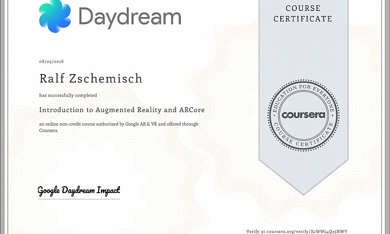 Congratulations, Your Course Certificate is Ready!