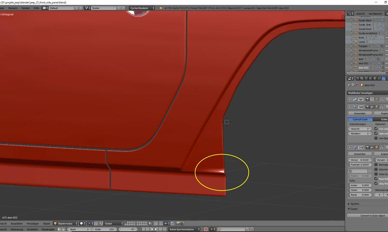 Tag 16: 3D-Modelling von einem Geländewagen