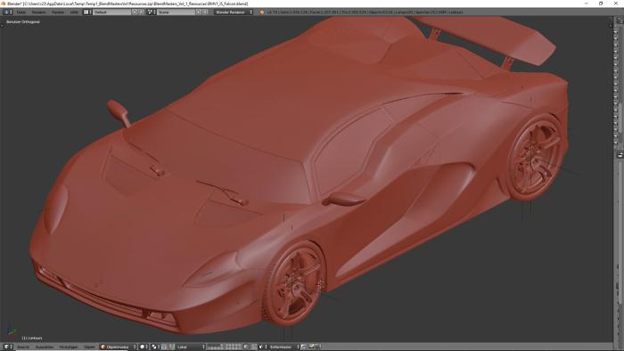 3D Car Modeling 1