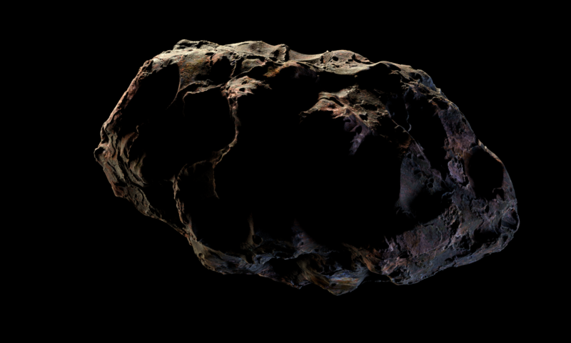 Blender: Asteroid Part 2 1
