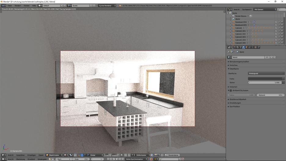 Fenster für die Küche
