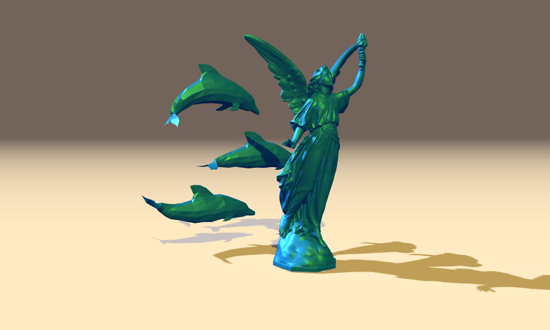 Wie kann man 3D Modelle im Polygon File Format im Web darstellen?