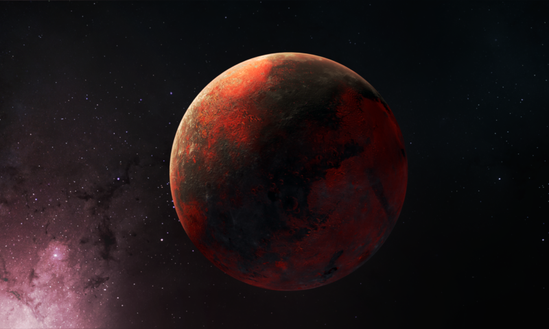 Space Elements: Roter Planet Animation 1