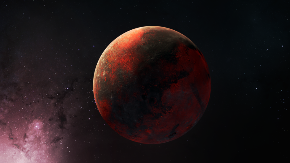 Roter Planet 1