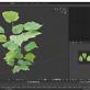 3D Pflanzen mit Stamm