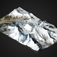 Mount Everest – 3D Geländekarte