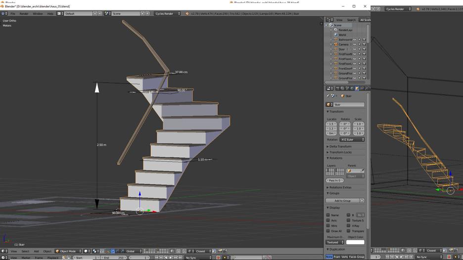 Treppen-Entwurf