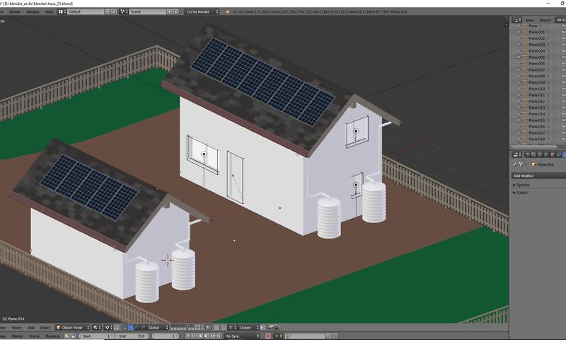 Architekturvisualisierung mit Blender – Teil 3 1