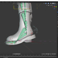 3D Modellierung unserer Astronautin mit Blender