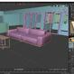 3D-Immobilien Visualisierung: Möbel