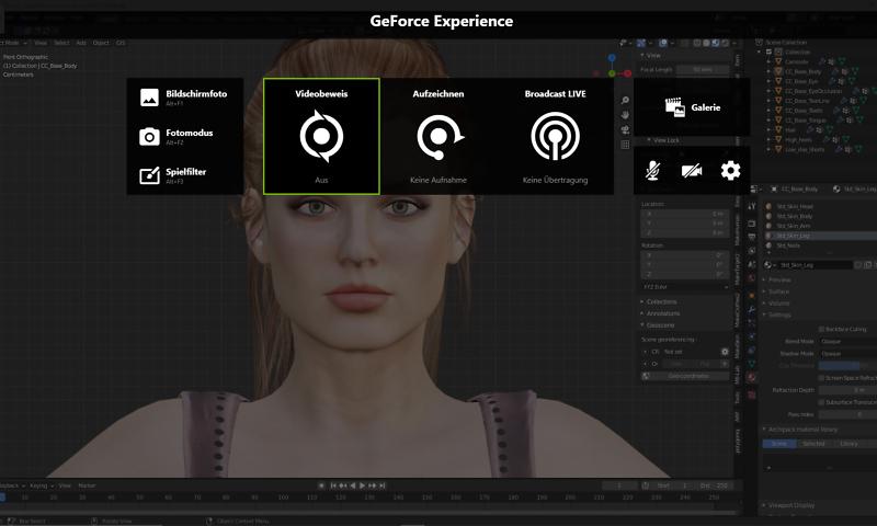 GeForce Experience: Alt + Z