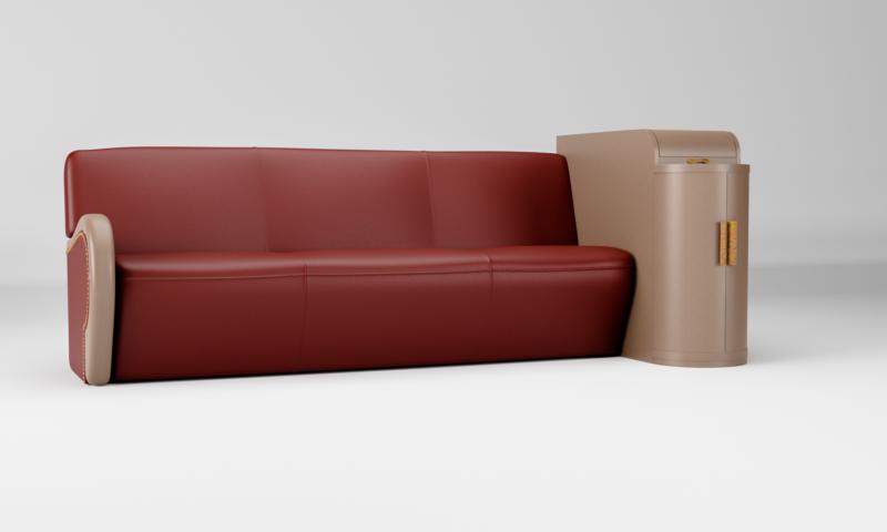 Lounge Sofa für einen Jazzkeller