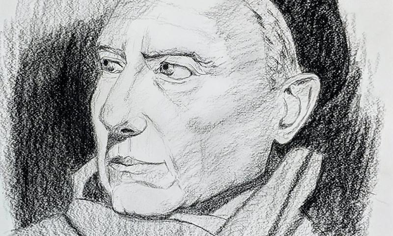 Porträtzeichnungen – Zeichenkurs Porträt Zeichnen: