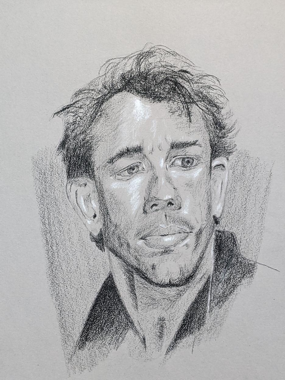 Porträt zeichnen: Tag 159