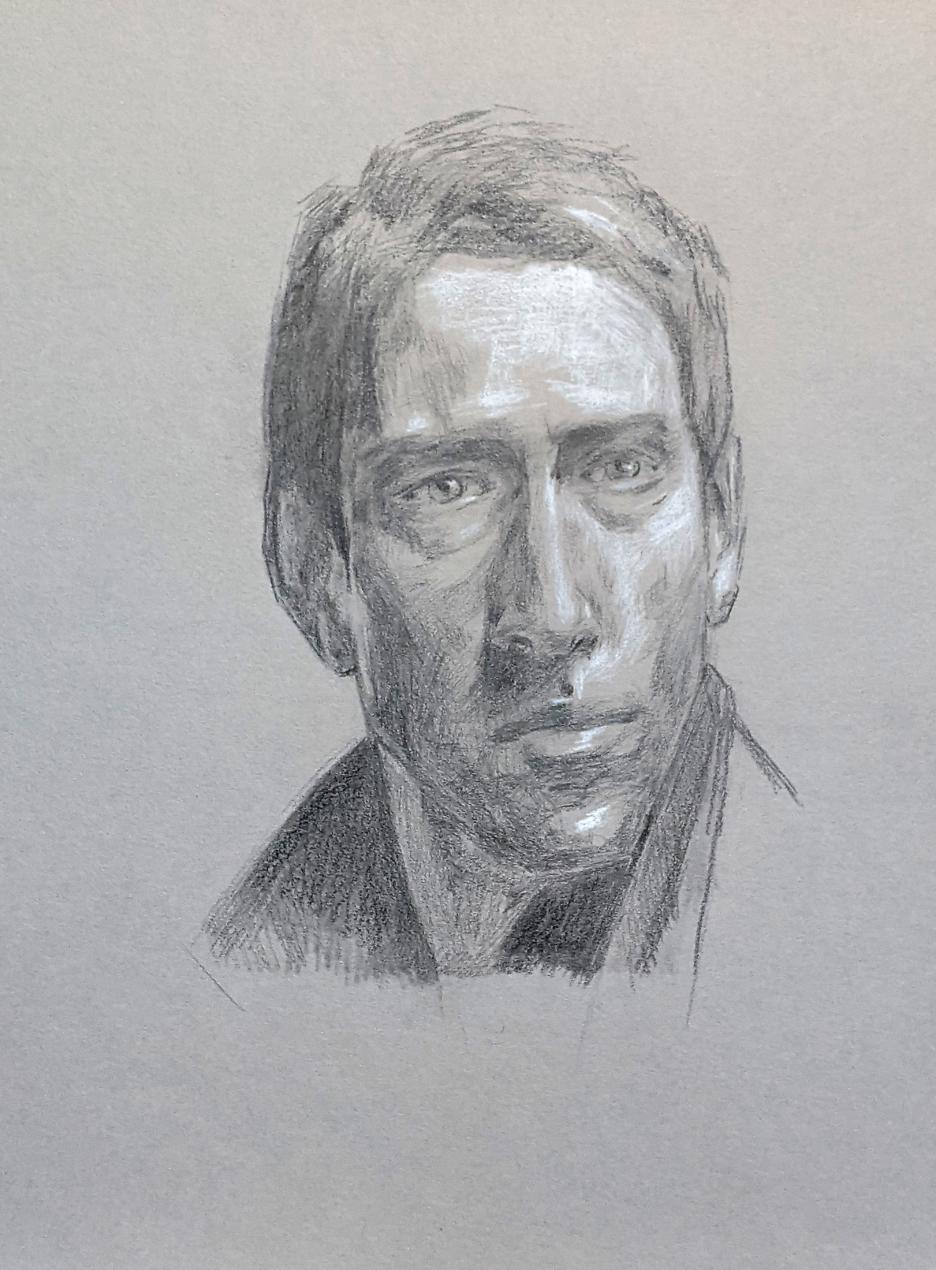Porträt zeichnen: Tag 178