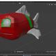 Retopologie: Fisch Teil 2