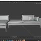 3D Visualisierung: Couch für VR/AR und Print Teil 4