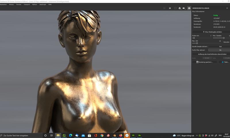 "Skulptur ""Thalia"", Version in Bronze"
